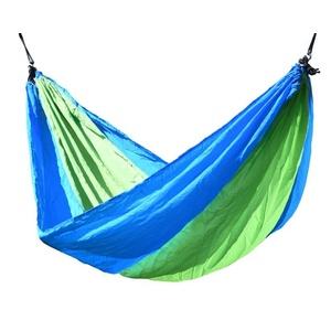 Houpací síť k sezení Cattara NYLON 275x137cm zeleno-modrá, Cattara