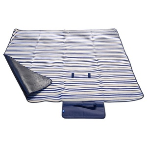 Pikniková deka Cattara FLEECE 150x135cm modrá, Cattara