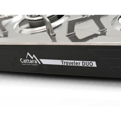 Plynový vařič Cattara Traveler DUO, Cattara
