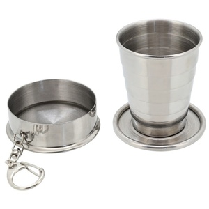 Nerezový pohárek Cattara skládací 60ml, Cattara