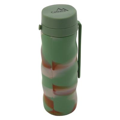 Silikonová láhev Cattara ARMY 550ml, Cattara