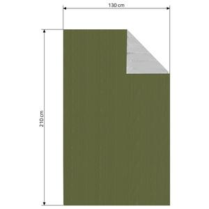 Izotermická fólie Cattara SOS zelená 210x130cm, Cattara