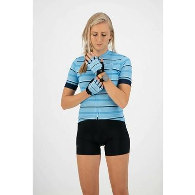 Dámské rukavice na kolo Rogelli STRIPE, světle modro-modré 010.620, Rogelli