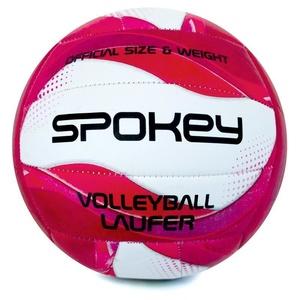 Volejbalový míč Spokey LAUFER  bílo-růžový, Spokey