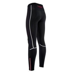 Pánské elastické kalhoty Silvini MOVENZA MP1312 black red, Silvini