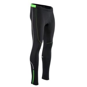 Pánské elastické zateplené kalhoty Silvini RUBENZA MP1319 black green, Silvini