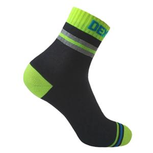 Ponožky DexShell Pro Visibility Cycling Sock Yellow stripe