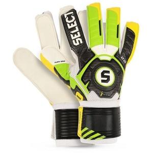 Brankářské rukavice Select 22 flexi grip zeleno žlutá, Select