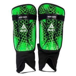 Chrániče holeně Select Shin guards High Safe zeleno černá, Select