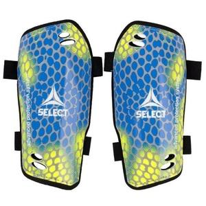 Chrániče holeně Select Shin guards Standard žluto modrá, Select