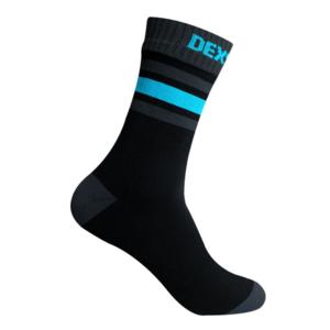Ponožky DexShell Ultra Dri Sport Sock Black/Aqua, DexShell