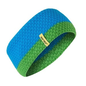 Pletená čelenka Sensor modrá, Sensor