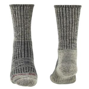 Ponožky Bridgedale Hike Midweight Merino Comfort Boot stone grey/017, bridgedale