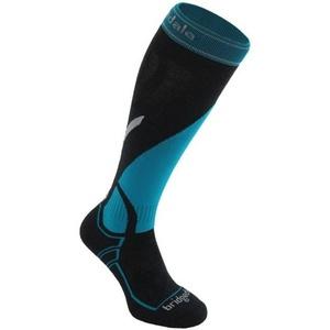 Ponožky Bridgedale Ski Midweight gunmetal/blue/003