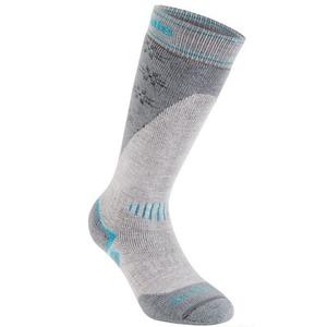 Ponožky Bridgedale Ski Midweight light stone/grey/040