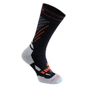 Ponožky Bridgedale Ski Nordic Race black/stone/850, bridgedale