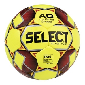 Fotbalový míč Select FB Flash Turf žluto červená, Select
