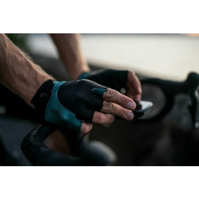 Rukavice na kolo Rogelli PRESA,černo-khaki 006.360, Rogelli