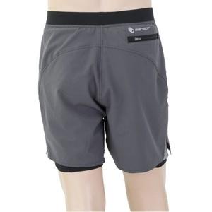 Pánské běžecké šortky Sensor TRAILšortky šedá/černá 19100008, Sensor