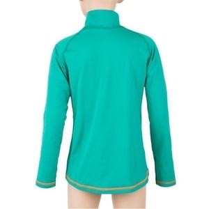 Dětské triko Sensor Thermo dl.rukáv zip sv.zelená/ufo, Sensor