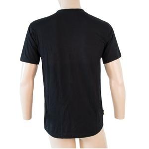 Pánské triko Sensor MERINO ACTIVE PT LABEL kr.rukáv černá 18200015, Sensor