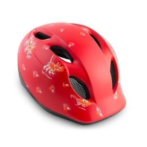MET helma SUPER BUDDY 2019 dětská zvířatka/červená, Met