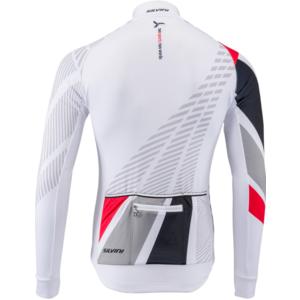 Pánský zateplený dres Silvini Team MD1401 white-red, Silvini