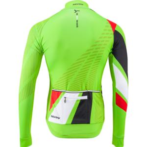 Pánský zateplený dres Silvini Team MD1401 green-red, Silvini