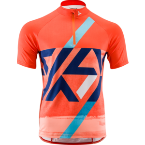 Pánský MTB dres Silvini Gallo MD1420 orange-navy, Silvini