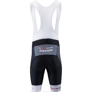 Pánské cyklistické kalhoty Silvini Team Top MP1406 black-red, Silvini