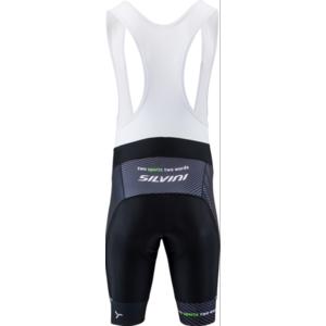 Pánské cyklistické kalhoty Silvini Team Top MP1406 black-green, Silvini