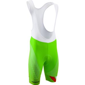 Pánské cyklistické kalhoty Silvini Team Top MP1406 green-red, Silvini