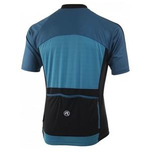 Cyklistický dres Rogelli MANTUA 3.0 s krátkým rukávem, tyrkysovo-modrý 001.078., Rogelli