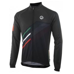 Volnější cyklistický dres Rogelli TEAM 2.0 s dlouhým rukávem, černý 001.971., Rogelli
