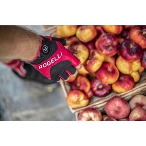 Cyklistické rukavice Rogelli ARIOS, červené 006.002., Rogelli