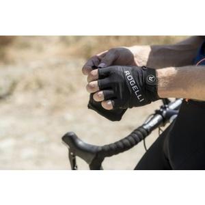 Cyklistické rukavice Rogelli ARIOS, černé 006.004., Rogelli