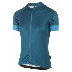 Dámský cyklistický dres Rogelli MODESTA s krátkým rukávem, tmavě tyrkysovo-žlutý 010.114 , Rogelli