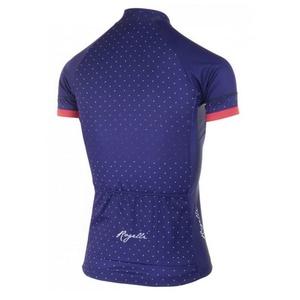 Dámský cyklistický dres Rogelli PRIDE s krátkým rukávem a střihem na tělo, modro-růžové 010.171., Rogelli