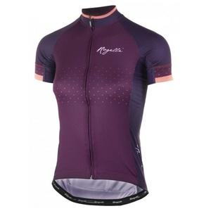 Dámský cyklistický dres Rogelli PRIDE s krátkým rukávem a střihem na tělo, vínový 010.172., Rogelli