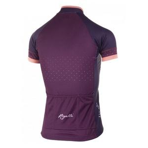 Dámský cyklistický dres Rogelli PRIDE s krátkým rukávem a střihem na tělo, vínový 010.172.