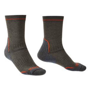 Ponožky Bridgedale Hike Lightweight Coolmax Performance Boot dark grey/826, bridgedale