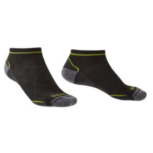 Ponožky Bridgedale Hike Ultralight T2 Coolmax Performance Low graphite/lime/140, bridgedale