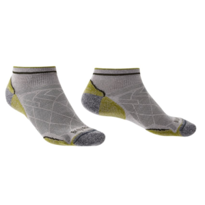 Ponožky Bridgedale Hike Ultralight T2 Coolmax Performance Low grey/green/068