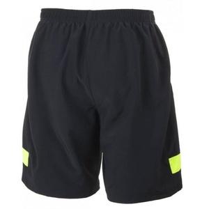 Volné běžecké šortky Rogelli GRAVITY, černo-reflexní žlutá 830.742, Rogelli