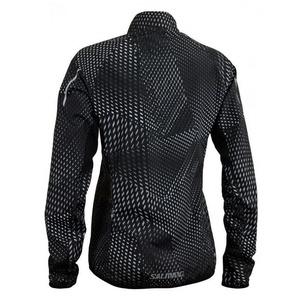 Bunda Salming Ultralite Jacket 3.0 Women Black AOP, Salming