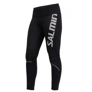 Běžecké kalhoty Salming Thermal Wind Tights Women Black, Salming
