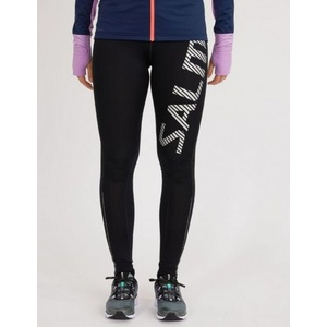 Legíny Salming Logo Tights 2.0 Women Black/Silver Reflective, Salming