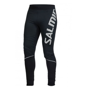 Běžecké kalhoty Salming Thermal Wind Tights Men Black, Salming