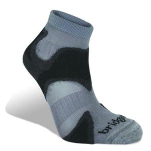 Ponožky Bridgedale Trailsport Ultra Light T2 Merino Cool Comfort Ankle gunmetal/black/863