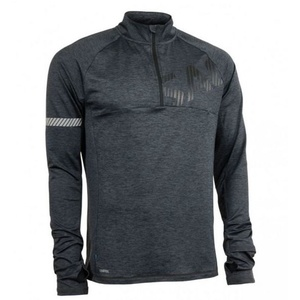 Dámská mikina Salming Phase Halfzip Men Dark Grey Melange, Salming